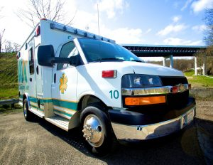 Community Care Ambulance Vehicle