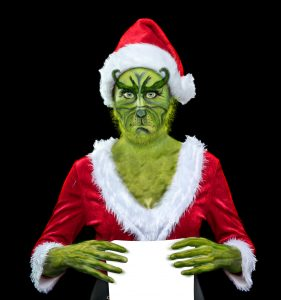 Don't be a Grinch this Christmas!